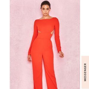 "House of CB ""Chrisanta"" NWT jumpsuit ‼️"